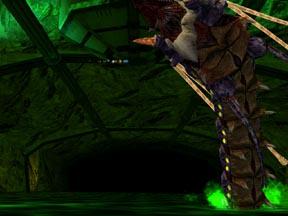 洞窟のボスのデロル